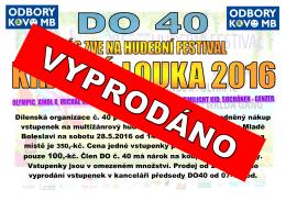 Dílenská organizace č. 40 připravila pro své členy