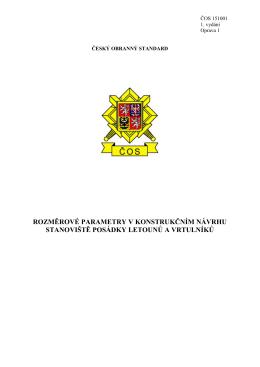 151001 - Ministerstvo obrany