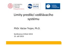 01 2015-09-15 ICOLLE 2015 Václav Trojan