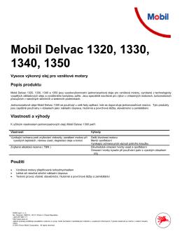 Mobil Delvac 1320, 1330, 1340, 1350