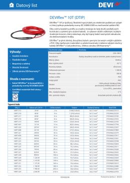DEVIflex™ 10T - Ekotermpraha.cz