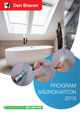 PROGRAM SÁDROKARTON 2015