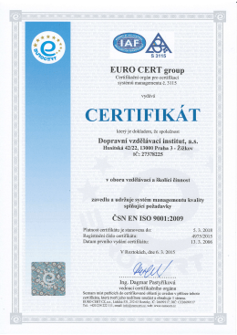 EURO CERT group