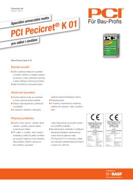 PCI Pecicret ® K 01