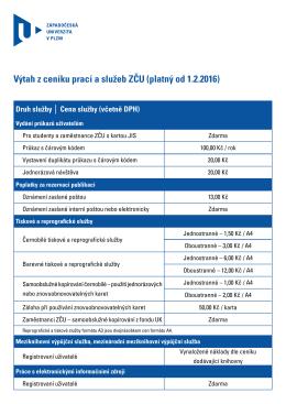 Cenik-sluzeb - Univerzitní knihovna