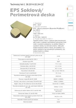 Technický list IZOPOL_38_EPS_SD-P_CZ
