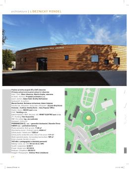 architektura | LÍBEZNICKÝ RONDEL