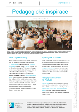 dokument ke stažení Pedagogické inspirace 1/2015 pdf