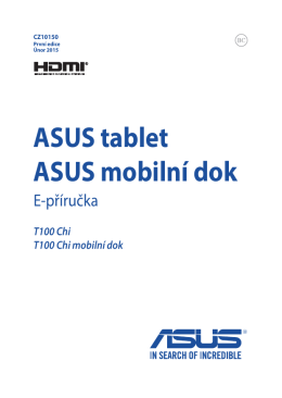 ASUS tablet ASUS mobilní dok