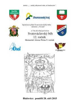 Svatováclavský běh 12. ročník