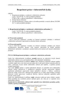OPVK--FyzII--lab--Uvodni cviceni