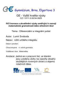 Sd_32 - Gymnázium Brno, Elgartova