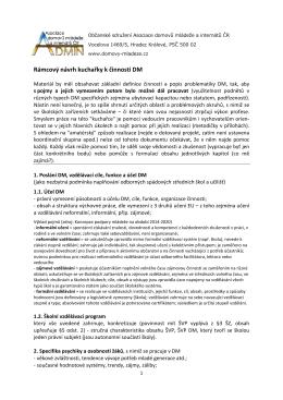 Kuchařky - Asociace domovů mládeže a internátů České republiky
