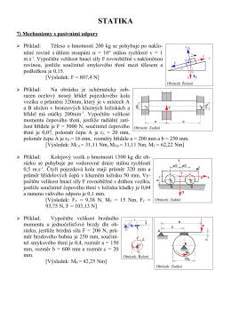 Mechanismi s pasivními odpory - SPS-KO