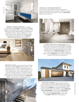 VILLA JOURNAL jaro 2015 GRANITE