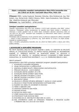 Dokument... - Obec Pičín
