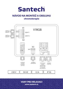 Návod na montáž chromoterapie (PDF 409 KB) - e-vany