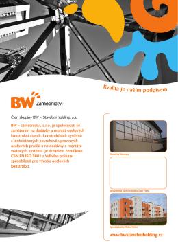 Stáhnout pdf 409 kB - BW stavební Holding