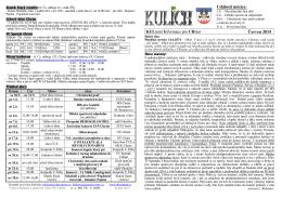 Kulich-červen 2015