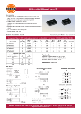 MAJ - Compact SMD Modules