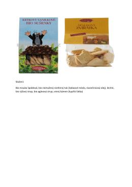 Bio pekárna Zemanka nabízí výborné zdravé sušenky pro děti