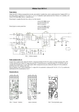 Hlídač fází HF3v1