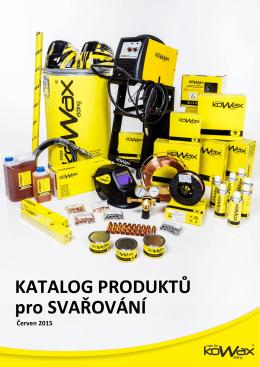 Produkty pro svařování