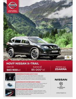 Ceník - Nissan