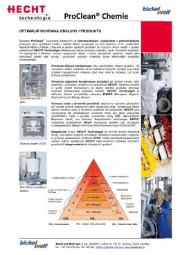 HECHT ProClean® Chemie