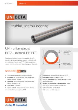 unibeta - Pipelife Czech s.r.o.