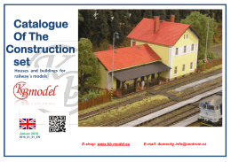 Catalogue Of The Construction set