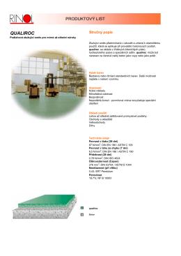 QUALIROC - J&B průmyslové podlahy