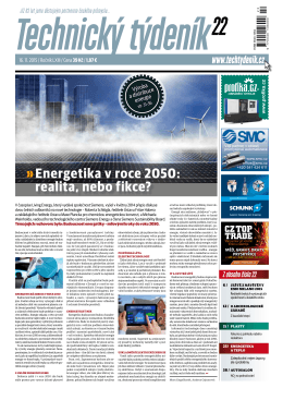 Energetika v roce 2050: realita, nebo fikce?