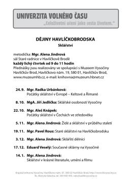 Dějiny Havlíčkobrodska - Krajská knihovna Vysočiny