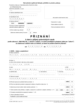 Přiznání DPPO - HlidaciPes.org