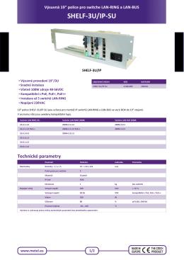 SHELF-3U/IP-SU