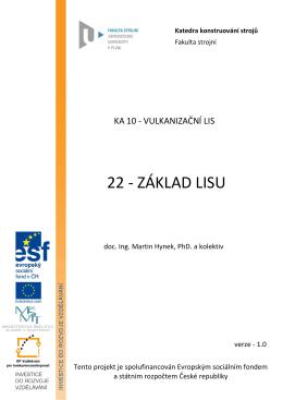 ka10-22 zaklad lisu - KKS - Západočeská univerzita v Plzni