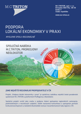 Podpora lokální ekonomiky