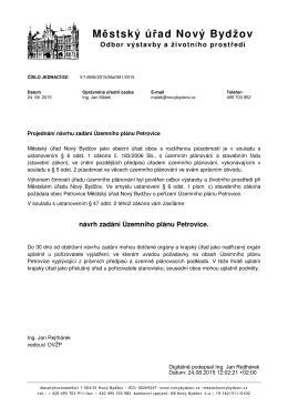 Městský úřad Nový Bydžov