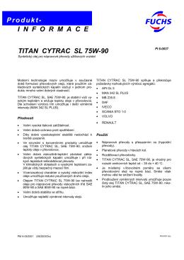 Titan Cytrac SL 75W-90
