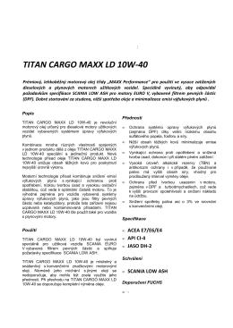 Titan Cargo Maxx LD 10W-40