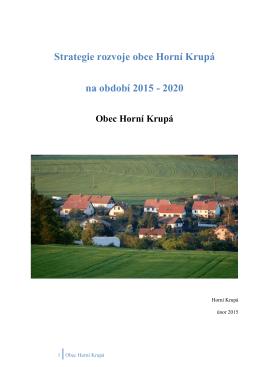 otevřít dokument - Obecní úřad Horní Krupá