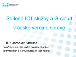 (Ne)tajemné ICT projekty ministerstva vnitra