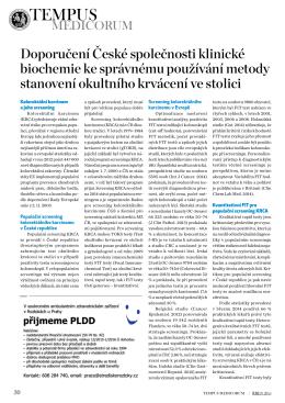 PDF Full text - 1. Lékařská fakulta