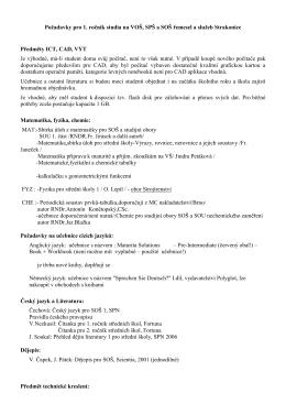 Výpočetní technika - VOŠ, SPŠ a SOŠ řemesel a služeb Strakonice