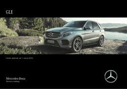Ceník, platnost od 23. října 2015 - Mercedes-Benz
