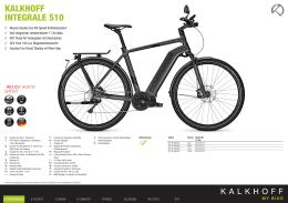 Katalog modelu KALKHOFF INTEGRALE S10 (2016)