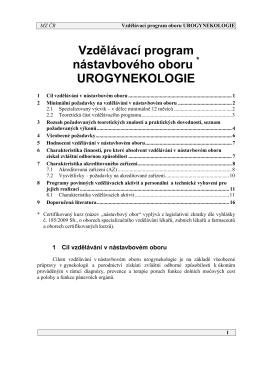 Urogynekologie_Věstník_MZ_částka_9_Červen_2015