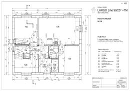studie Largo 98+1modul - varianta 12 Dům má samostatnou