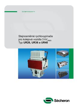 Nadpis Stejnosměrné rychlovypínače pro kolejová